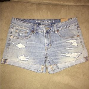 American outfitters midi shorts